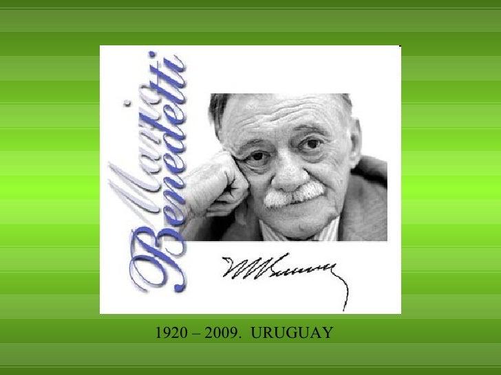 1920 – 2009.  URUGUAY