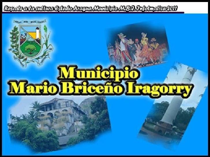 Mario briceño iragorry presentación