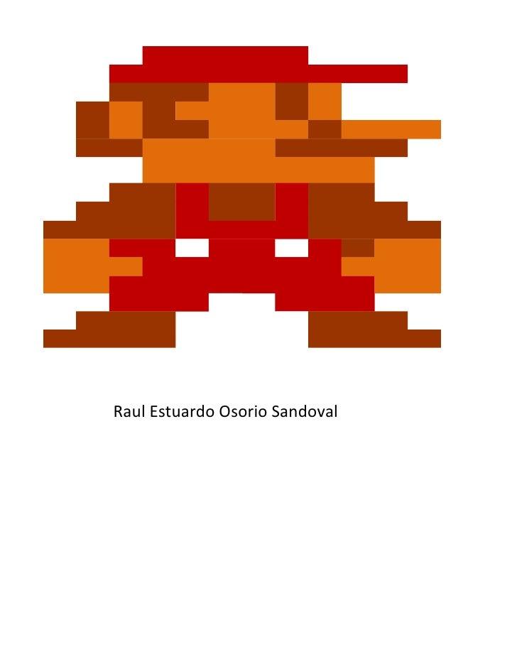 Mario bros excel
