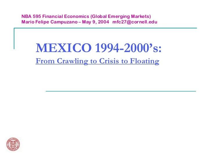 Mexican Financial Crisis