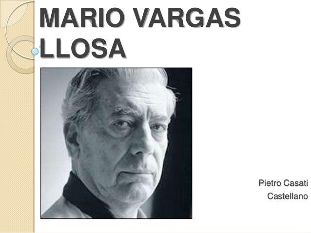 MARIO VARGASLLOSAPietro CasatiCastellano
