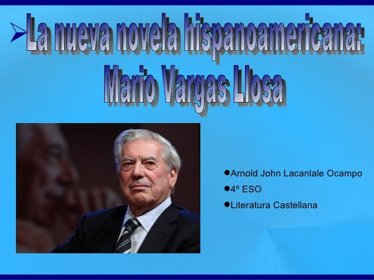 ➢    Arnold John Lacanlale Ocampo    4º ESO    Literatura Castellana