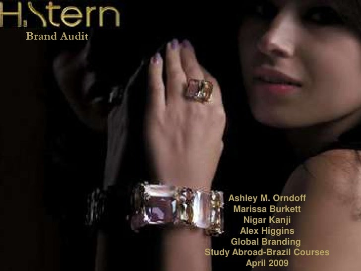 Marissa Burkett H. Stern Brand Brief