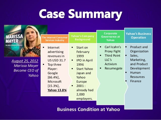 yahoo inc strategic analysis Business analysis - lacking growth at yahoo inc preview lacking growth at yahoo inc essay if the company does not manage change and have a strategic plan.