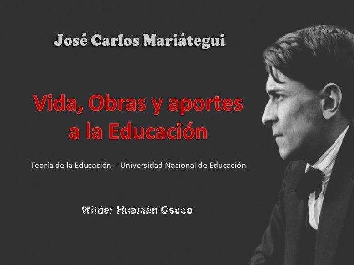 Mariátegui y la educación