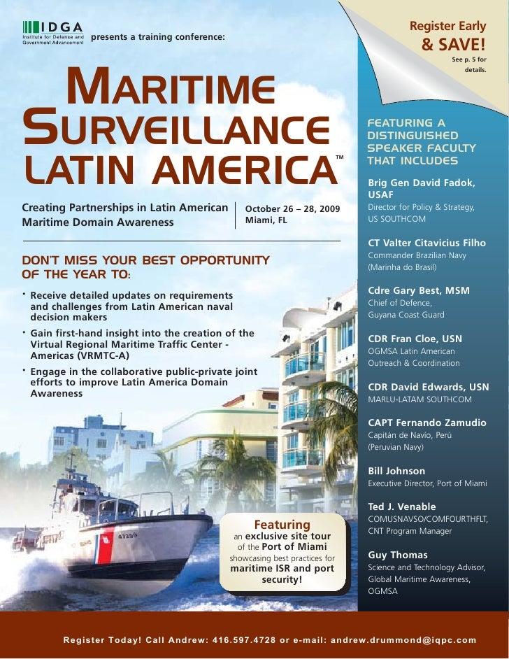 Maritime Surveillance Latin America 2009