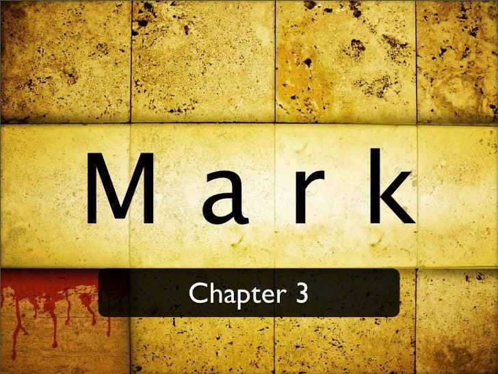 Mark  Chapter 3