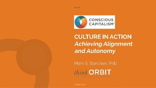 Culture in Action:  Use Doctrine to Achieve Alignment and Autonomy