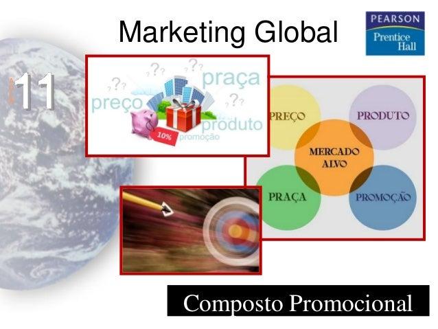 Marketing Global  11  A U L A  Composto Promocional