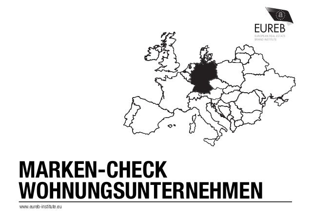 www.eureb-institute.eu MARKEN-CHECK WOHNUNGSUNTERNEHMEN