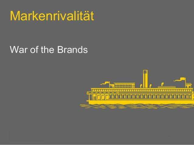 Markenrivalität  War of the Brands  PMaagderi d1 presentation  16th April 2008