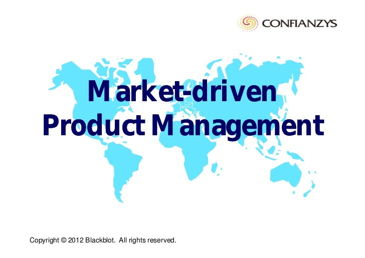Market driven product-management [compatibility mode]