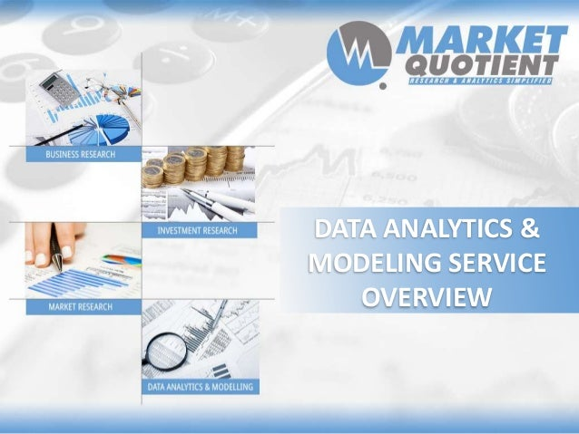 Market Quotient Data Analytics Modeling Service Overview
