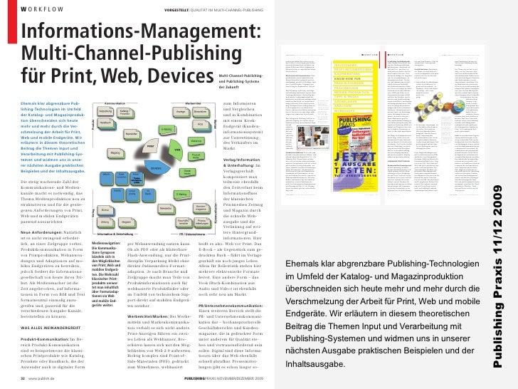 Entwicklung Database Publishing Marktübersichten