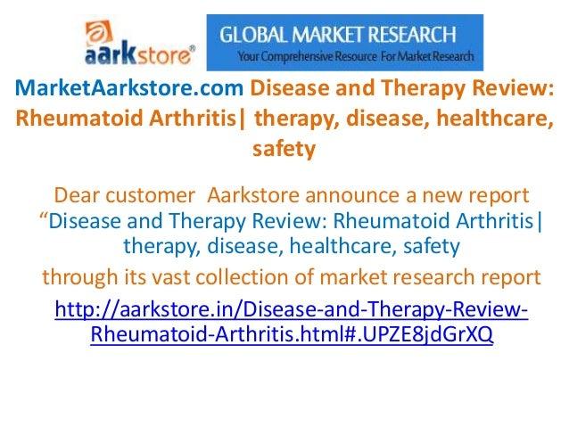 MarketAarkstore.com Disease and Therapy Review:Rheumatoid Arthritis  therapy, disease, healthcare,                      sa...