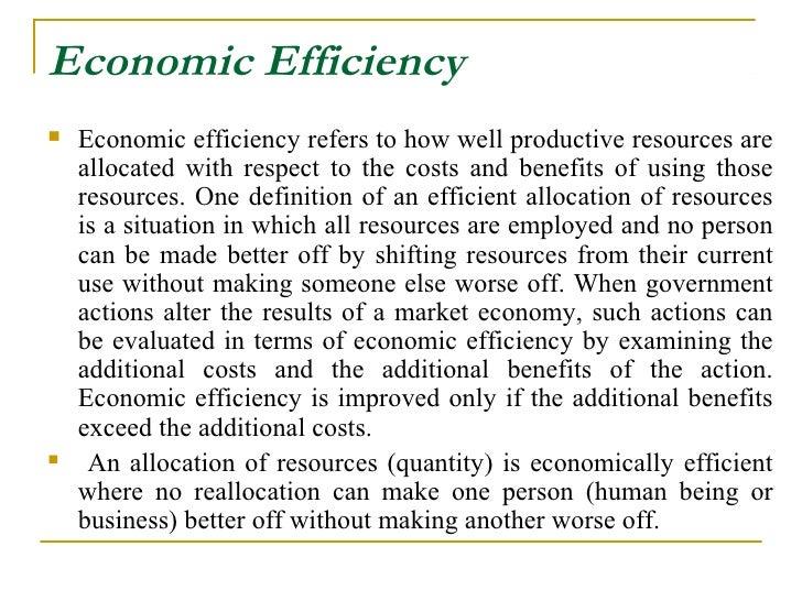 Economic Efficiency images