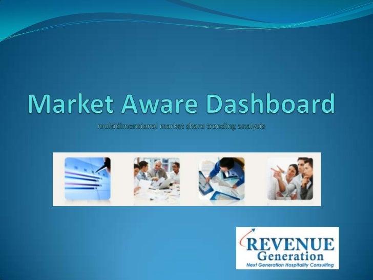 Market AwareDashboardmultidimensional market share trending analysis <br />
