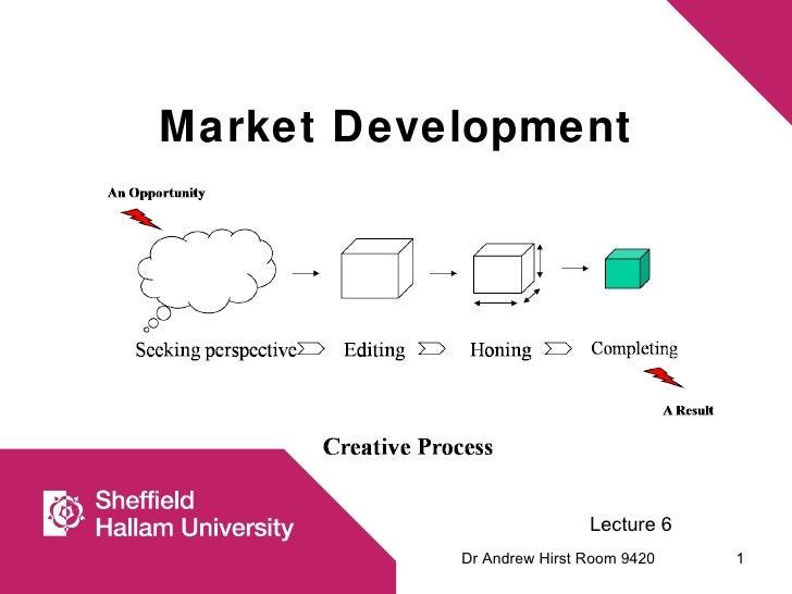 Market development strategy tools