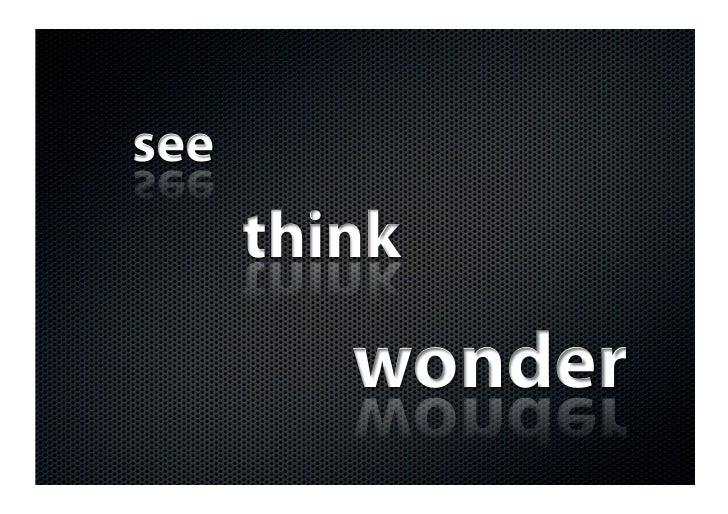 Marketers See Think Wonder
