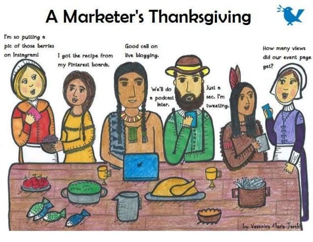 A Marketer's Thanksgiving From MarketingProfs