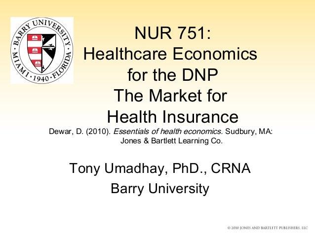 Market for health insurance umadhay