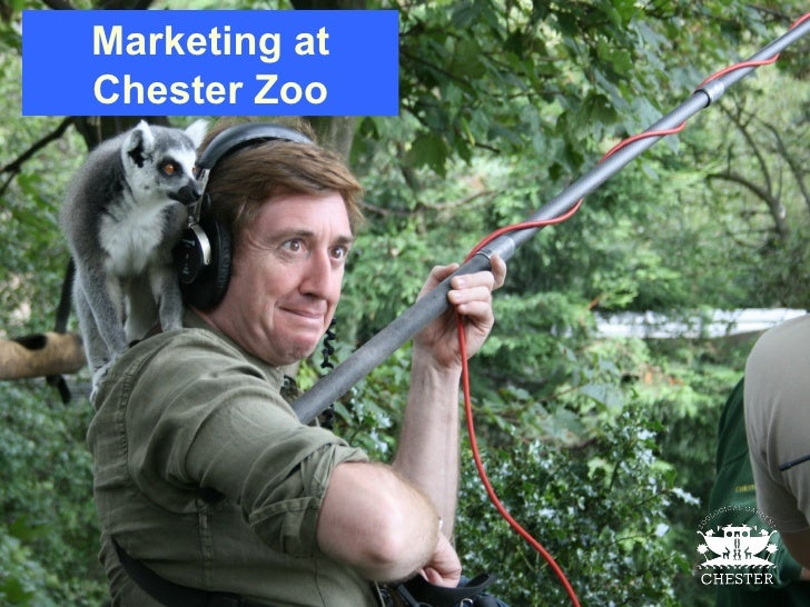 Marketing at Chester Zoo