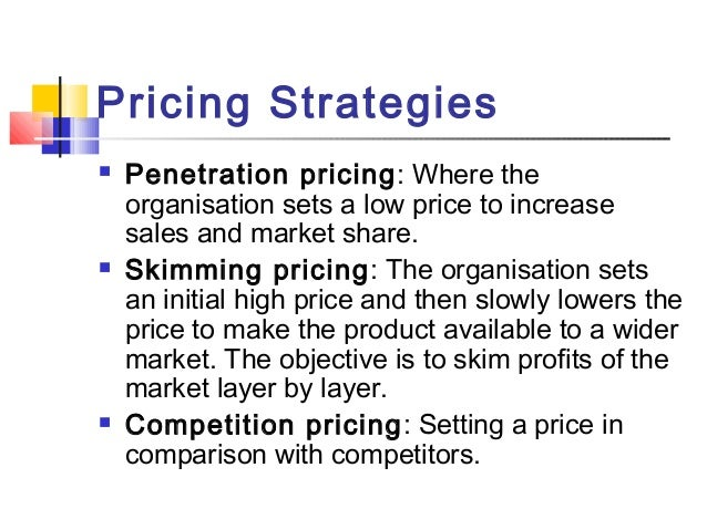 Pricing Marketing