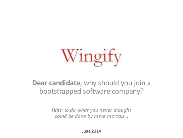 Why YOU should join Wingify!