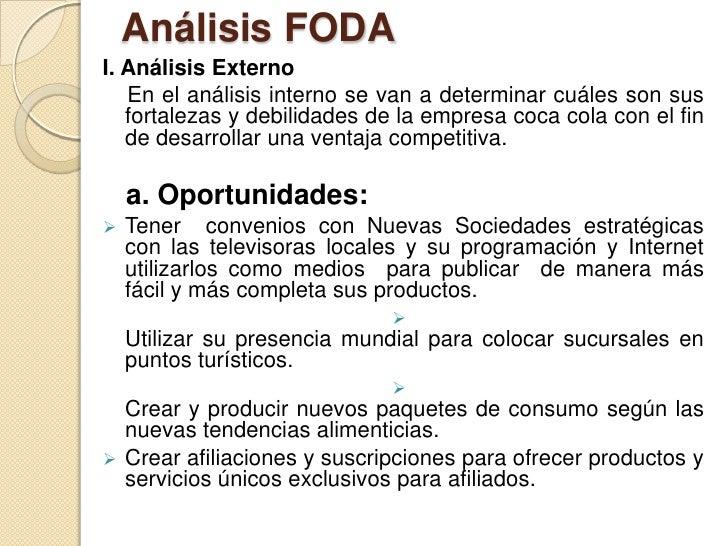 analisis interno femsa coca cola Este blog te brinda toda la informacion necesaria sobre la bebida coca cola, para su apliccacion en mercadeo y ventas.