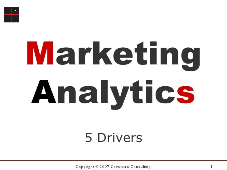 Marketing Analytics: 5 Trends