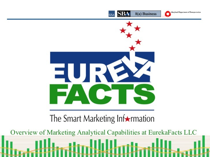 Overview of Marketing Analytical Capabilities at EurekaFacts LLC