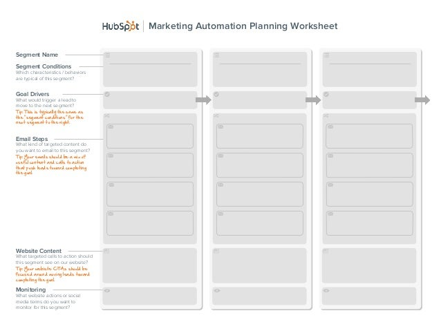 Marketing automation-planning-worksheet