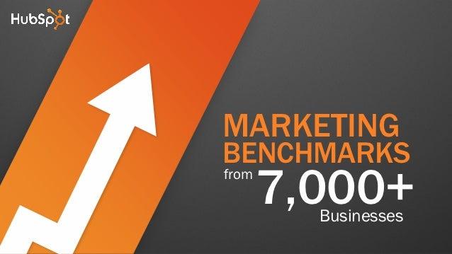 MARKETINGBENCHMARKSfrom       7,000+         Businesses
