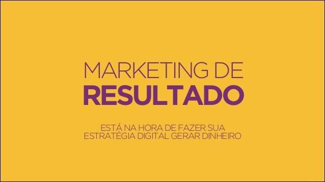 Marketing de Resultado