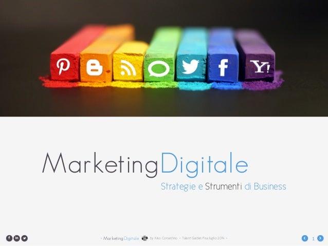 Marketing Digitale - Il piano di digital marketing