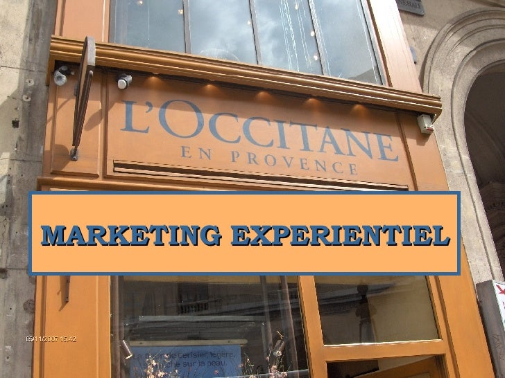 MARKETING EXPERIENTIEL