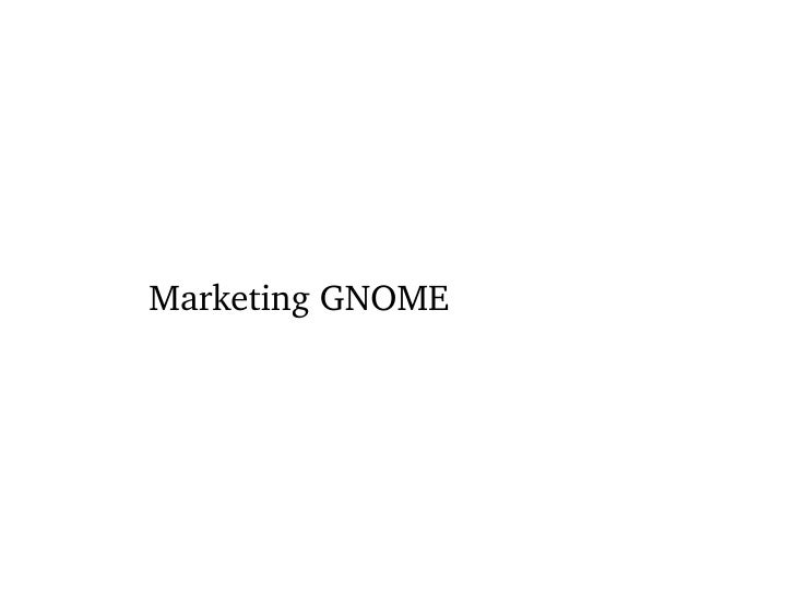 Marketing Gnome