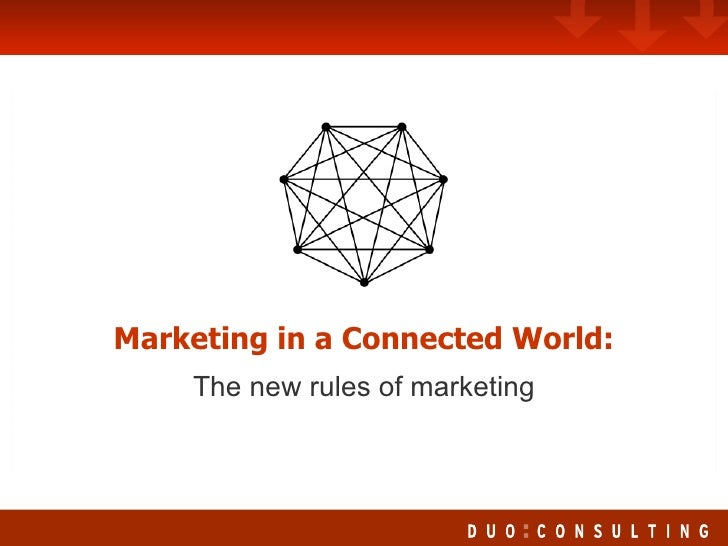 Marketing in a Connected World