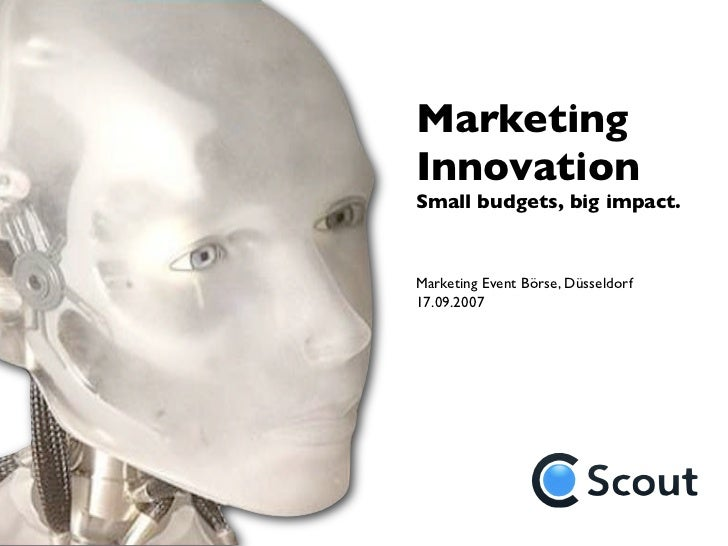 marketing innovation This 2-day program will teach participants to evaluate market attractiveness and distribution channels to help bring innovative products or services to market.