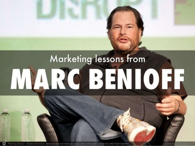 Marketing lessons from Marc Benioff