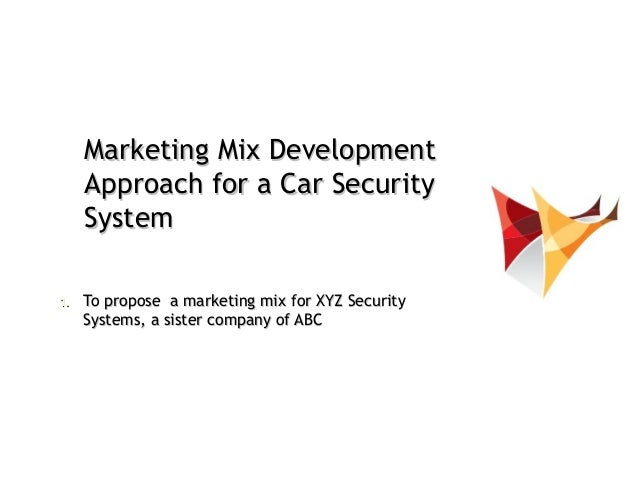 Marketing Strategy : Marketing  Mix Development   Example Of Car Accessory Maker