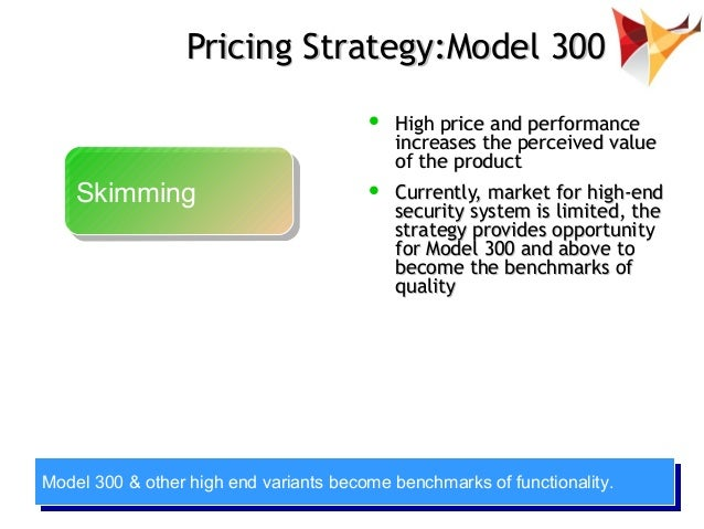 Pricing Strategy Model Pricing Strategy Model 300
