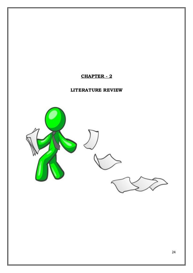 Literature review for ordering system