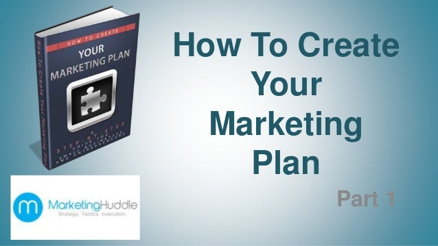 how to design a marketing plan