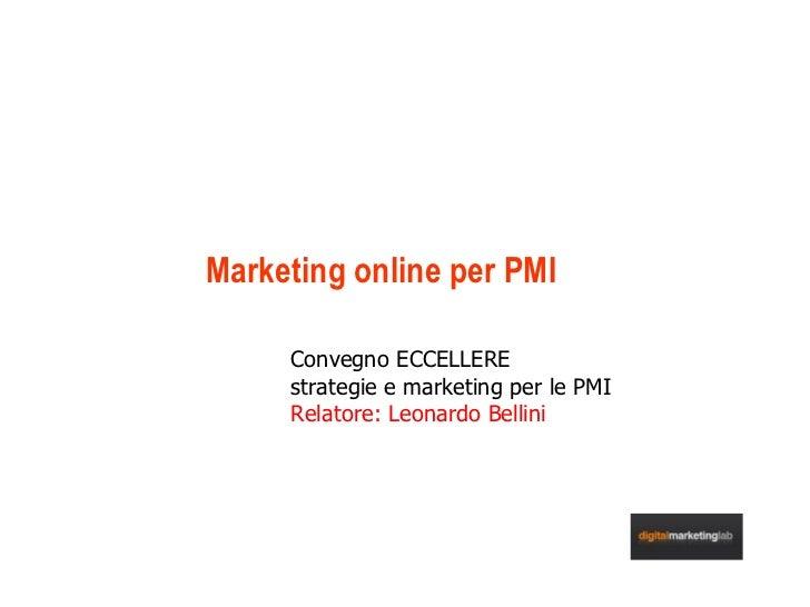 Marketing online  Per Le Pmi