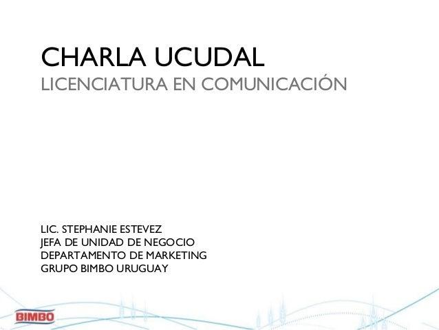 Marketing  planificación estratégica. UCUDAL. Set. 2010.