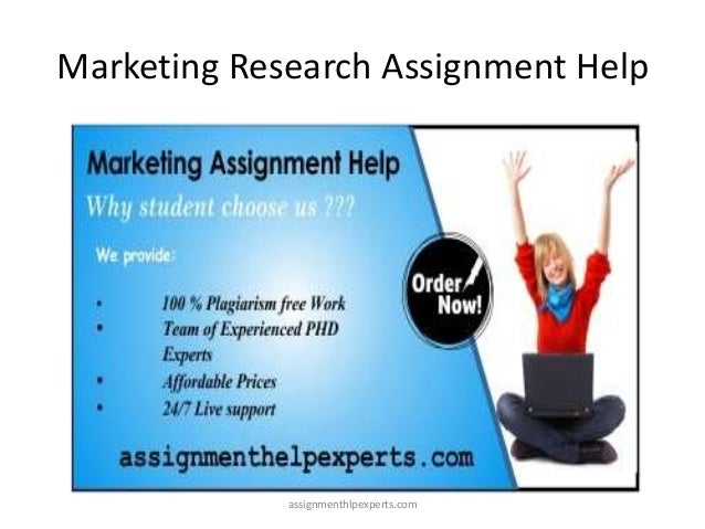 Marketing homework help