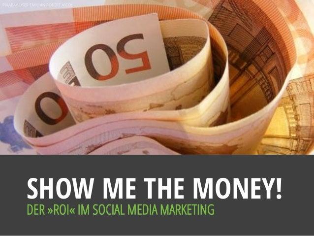 PIXABAY USER EMILIAN ROBERT VICOL SHOW ME THE MONEY! DER »ROI« IM SOCIAL MEDIA MARKETING
