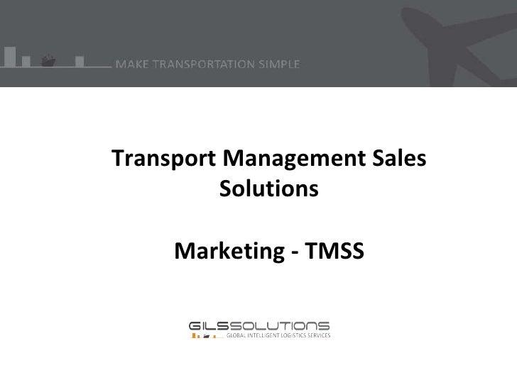 Marketing   tmss - 2003