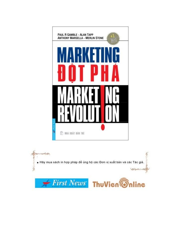 Marketing   đột phá